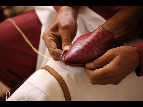 Exotic Leather - Ostrich Slippers -Babouche Prestige en Cuir Autruche - Artisanat Marocain