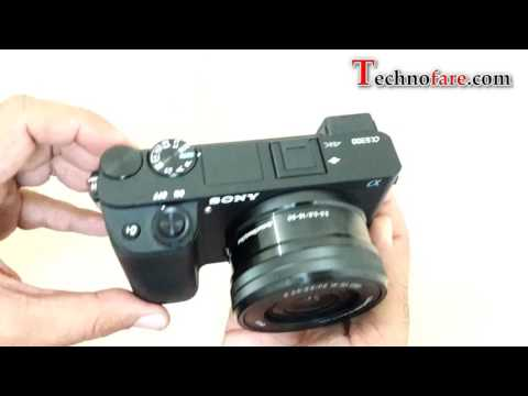 Sony Alpha a6300 camera unboxing & Overview