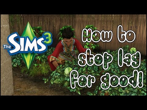 How to:  Stop lag in The Sims 3 once and for all!