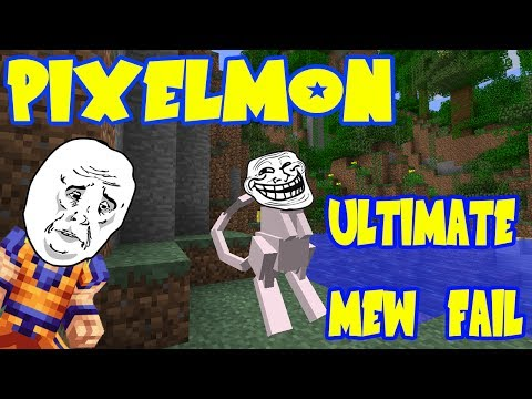 Pixelmon 3.0 w/ Rhymestyle - The ULTIMATE Legendary Pokemon Fail! Mew Spawned & Escaped