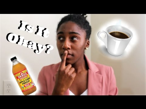 Coffee and Apple Cider Vinegar