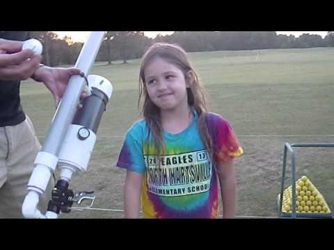 Pneumatic Golf Ball Launcher