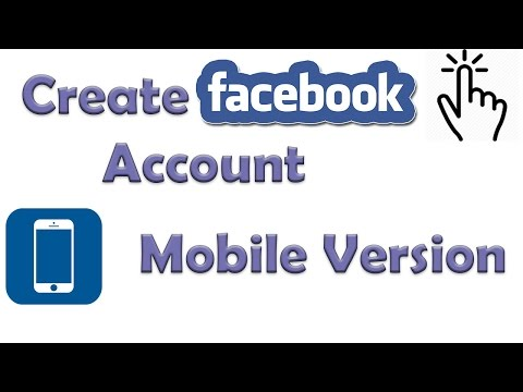 How to Create Facebook Account - Mobile Version | Sign up in Facebook