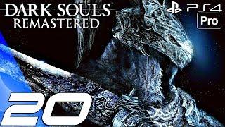 Dark Souls Remastered - Gameplay Walkthrough Part 20 - Sanctuary Guardian Boss (ps4 Pro)