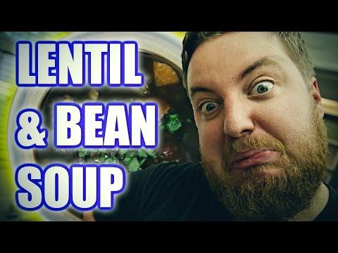 How To Make Black Bean & Lentil Soup