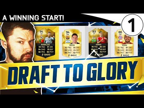 A WINNING START!!!! FUT DRAFT TO GLORY! Draft To Glory #01