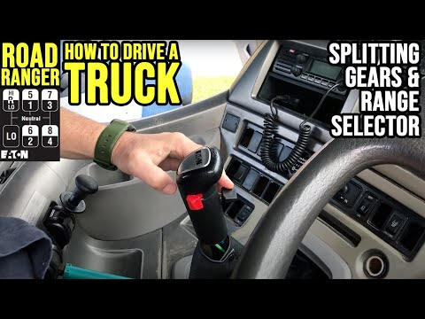 How To Drive A Truck with a Roadranger Gearbox: Splitting Gears: Using the Splitter Hi/Low Range
