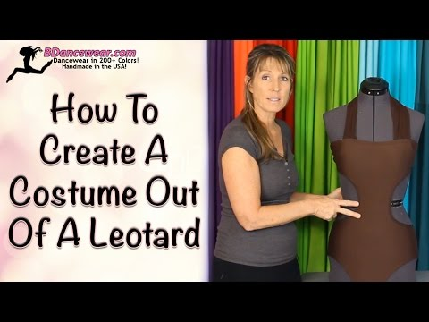 How To Create A Costume Out Of A Leotard