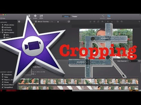 How to Crop a Video in iMovie 10.0 | Tutorial 6