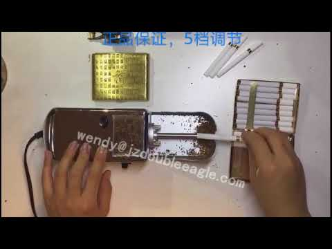 Mini automatic rolling smoke machine/tobacco cigarette rolling machine/DIY cigarette making machine