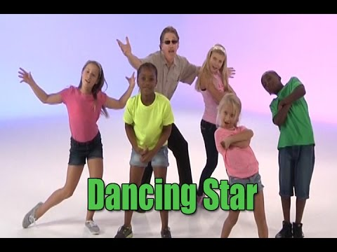 Dancing Star    Dance Song for Kids    Brain Breaks   Jack Hartmann