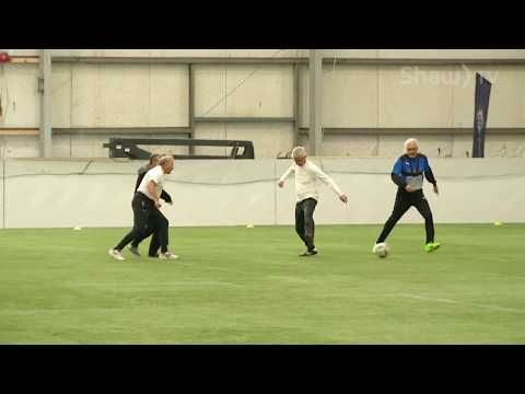Walking Soccer   Parksville Golden Oldies Sports Association // In A Minute (Where You Live)