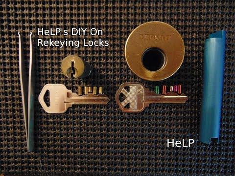 [41] HeLP's DIY How to Rekey a House Lock