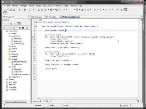 CodeIgniter from Scratch: Displaying & Sorting Tabular Data