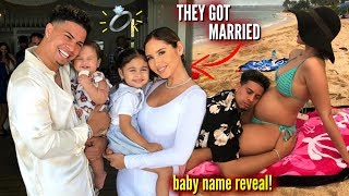 the ace family GOT MARRIED + BABY NAME REVEAL **SHOCKING**