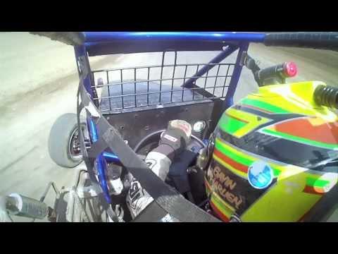Gavin Harlien at Cory Kruseman Sprint Car Driving School
