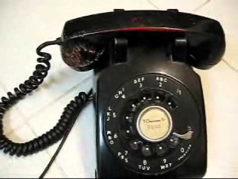 HOW TO Connect a Vintage 1950's 3 wire desktop phone to a 2 wire house - Western Electric 500