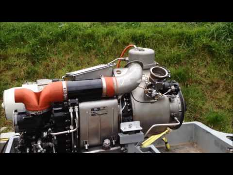 More cold beer- jet cooler with BAC1-11 aircraft APU jet engine