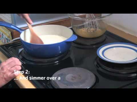 How to make classic vanilla custard