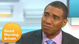 The Prime Minister of Jamaica Andrew Holness Talks About CHOGM and the Windrush Scandal | GMB