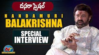 Nandamuri Balakrishna Dussehra Special Interview | Narthanasala Movie | NTV Entertainment