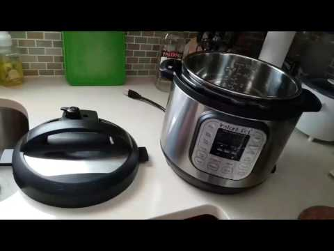 Instant Pot Pressure Cooker Water Test / Sterilization