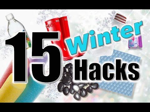 MOM HACKS | 15 Winter Hacks | Mindy McKnight