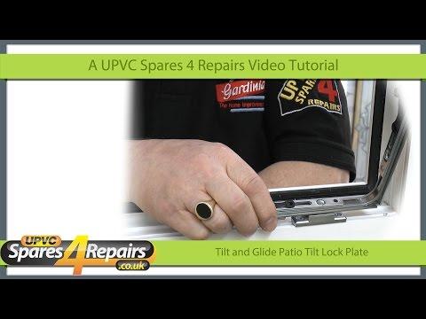 Tilt Glide Tilt Lock Plate For Tilt and Slide Patio Doors