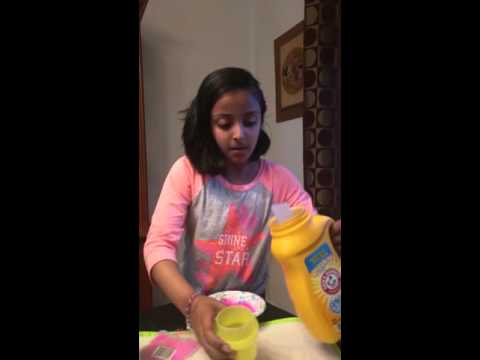 How to make glow in the dark slime