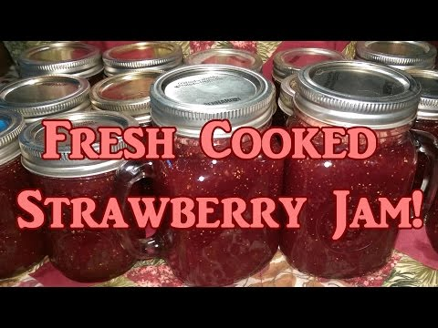 Fresh Cooked Strawberry Jam