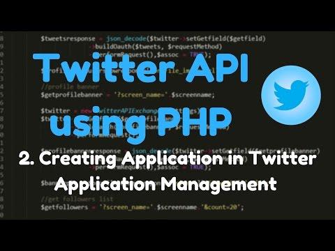1.2: Twitter API - Twitter Application Management, Keys, Tokens.