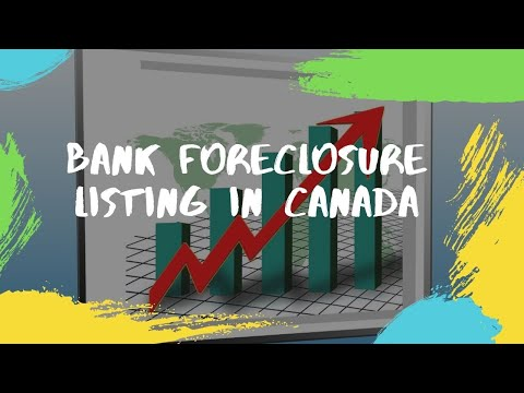 Bank Foreclosure Listing in Canada - Foreclosure Listings Canada