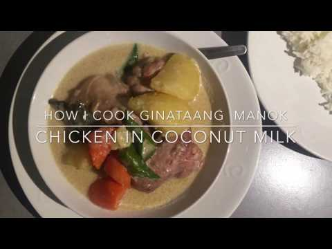 How I Cook Ginataang Manok (Chicken In Coconut Milk)