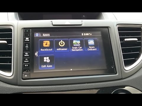 Android Apps on your Hondalink Radio Display. Connect MirrorLink Navi on Honda CRV, HRV, Fit & Civic