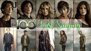 The 100 Cast Singing