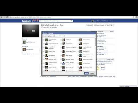 Facebook Event Tutorial