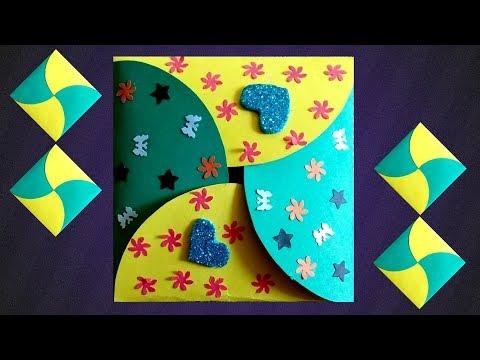 Handmade Envelope making ideas | Fancy gift envelopes with a4 paper | Envelope card design Tutorial