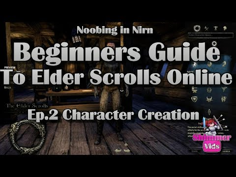 Noobing in Nirn: Beginners Guide to ESO - Character Creation
