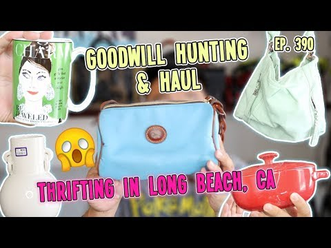 THRIFTING IN LONG BEACH, CA   GOODWILL HUNTING & HAUL EP. 390