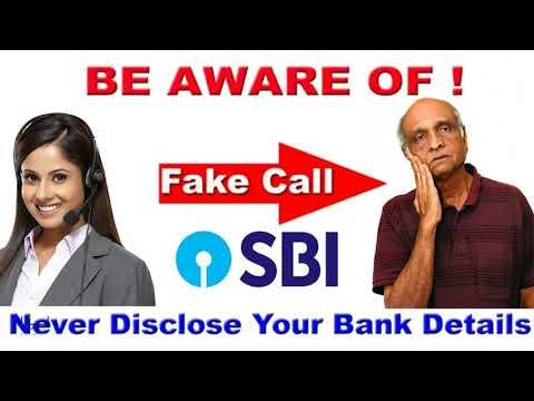 SBI Fraud Call Recorded || Fake Bank Phone Calls