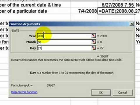 How Does Excel Calculate Dates?