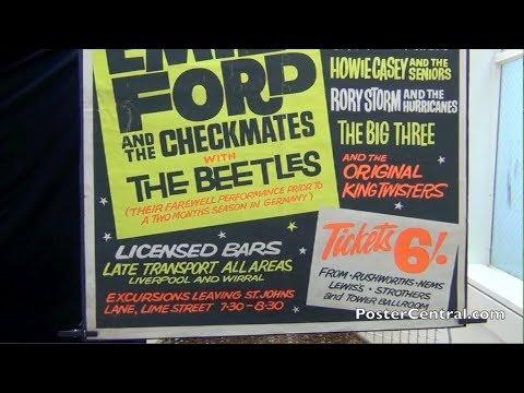 Beatles 1962 Liverpool Concert Poster at Tower Ballroom, Part 2