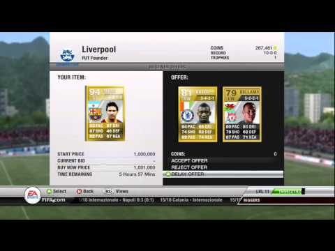 Best Messi Trade Offer on Fifa 12