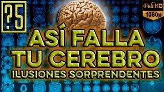 ¡te Reto! Voy A Hacer Fallar A Tu Cerebro. ¿es Confiable? Ilusiones ópticas Sorprendentes.