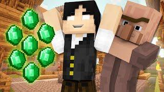Minecraft Reverso #6: CONSEGUI UM MILHÃO DE ESMERALDAS!!!