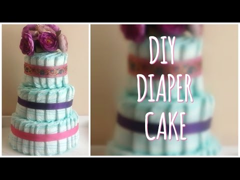 DIY | How to Make a Nappy Cake
