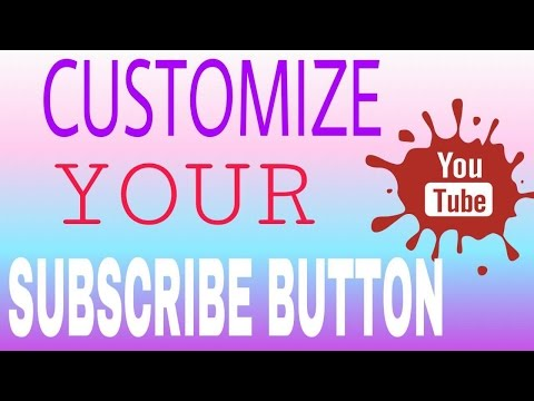 HOW TO ADD A CUSTOM SUBSCRIBE 👍 BUTTON TO ALL OR ONE OF YOUR YOUTUBE VIDEOS📱