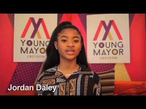 Croydon Young Mayor candidate - Jordan Daley