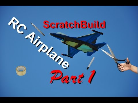 How to make RC Airplane - Part 1 / DIY