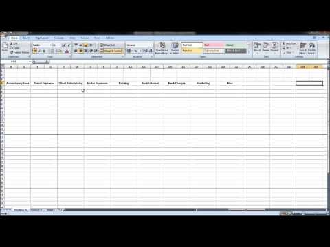How to Create an Expenses Forecast - Business Plan Financials Series - Part 1
